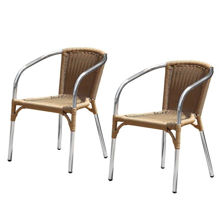 Die besten 25+ Gartenstühle aluminium Ideen auf Pinterest Stuhl - gartenmobel set polyrattan braun