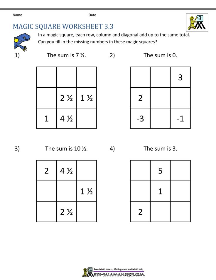 Printable Worksheets magic square worksheets : 21 best Math Activity Book images on Pinterest | Math activities ...