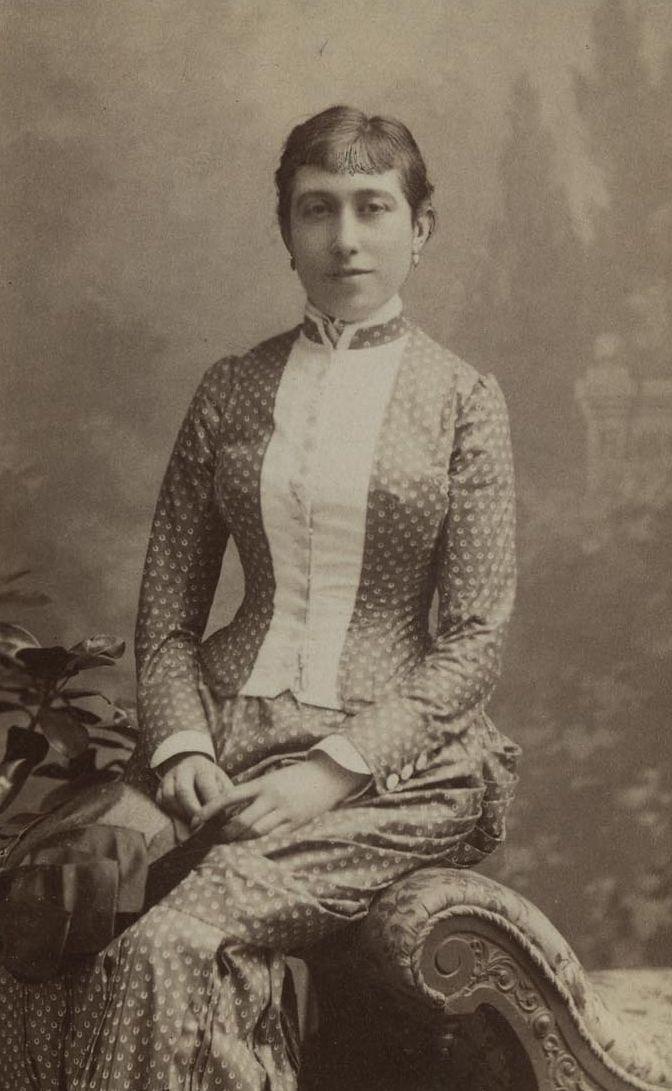 Do�a Amelia del Valle (1850-1927), marquesa de Villa-Huerta. Hija ...