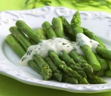 Asparagus With Tarragon Sauce (3 Points+)