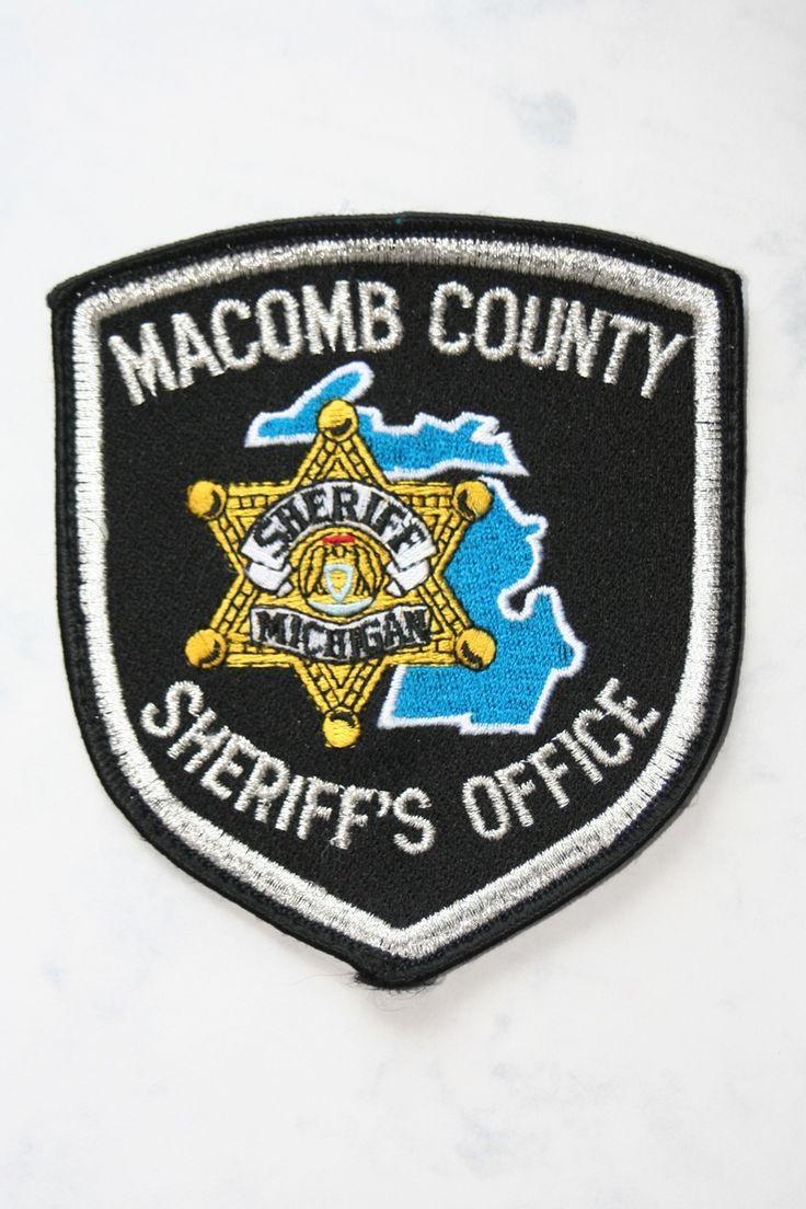 Police cap badges ga rel hat badges page 1 garel - Macomb County Sheriff Michigan Police Badgespolice
