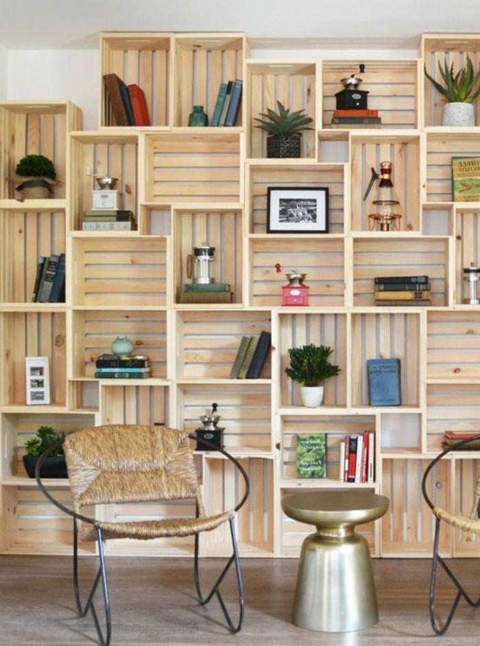 Les 25 meilleures id es de la cat gorie etagere cube - Meuble pour ranger les livres ...
