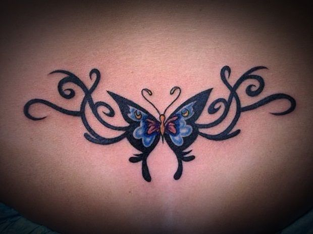 24 Sexy Lower Back Tattoos -Design Bump