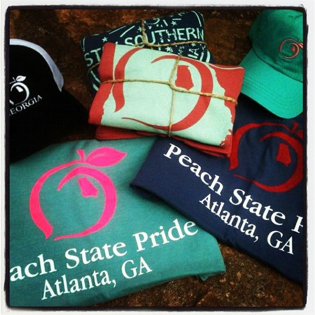 Atlanta, Ga Peach State Pride shirts... only available at High Country Outfitters #peachstatepride #staysouthern    http://www.highcountryoutfitters.com/