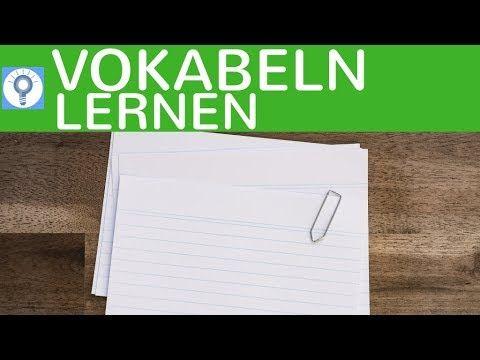 5 Tipps & Methoden zum Vokabeln lernen - Vokabeln richtig, entspannt & effektiv lernen - YouTube