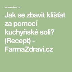 Jak se zbavit klíšťat za pomocí kuchyňské soli? (Recept) - FarmaZdravi.cz