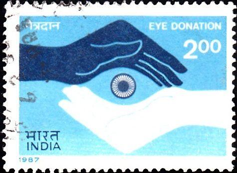1987 India Eye Donation