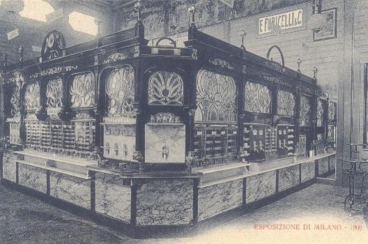 "Cartolina - Ristorante ""Automat"" (interno)"