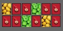 Jogos de Memória grátis para Crianças: Muitas Frutas!