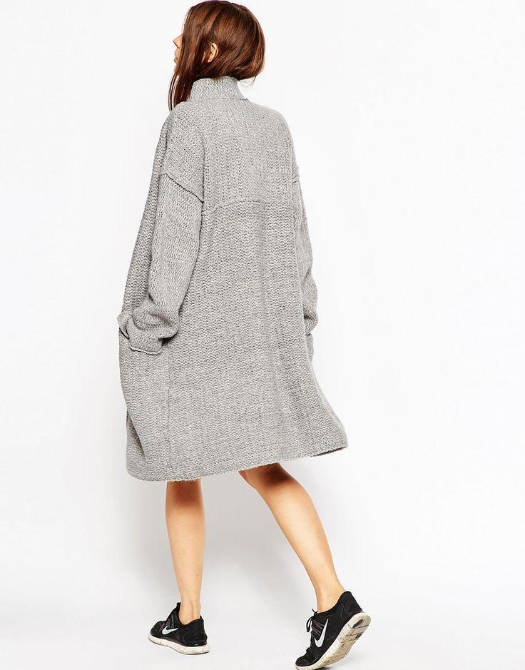 Изображение 2 из Трикотажное пальто из крученой нити ASOS Premium