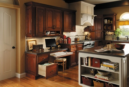 Fieldstone Cabinetry Dress Up Your Bookcase With Valances Onlays Furniture Feet And Turned