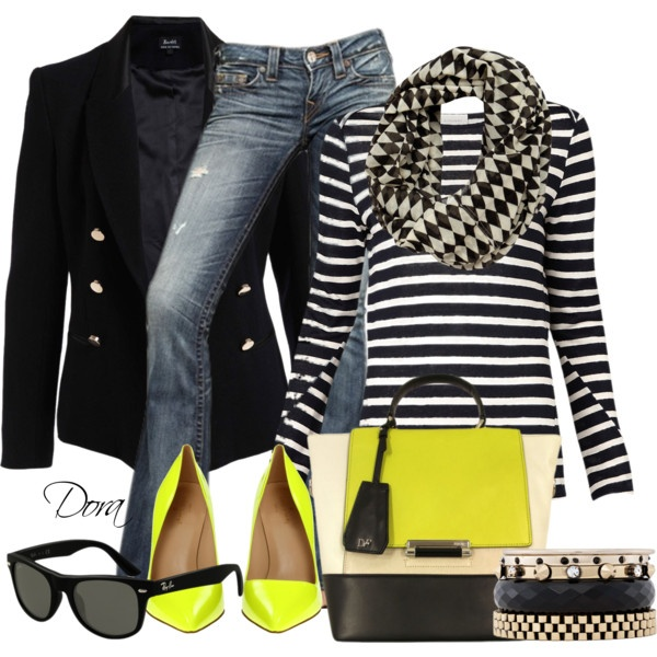"""""""fluo"""" by doradabrowska on Polyvore"""