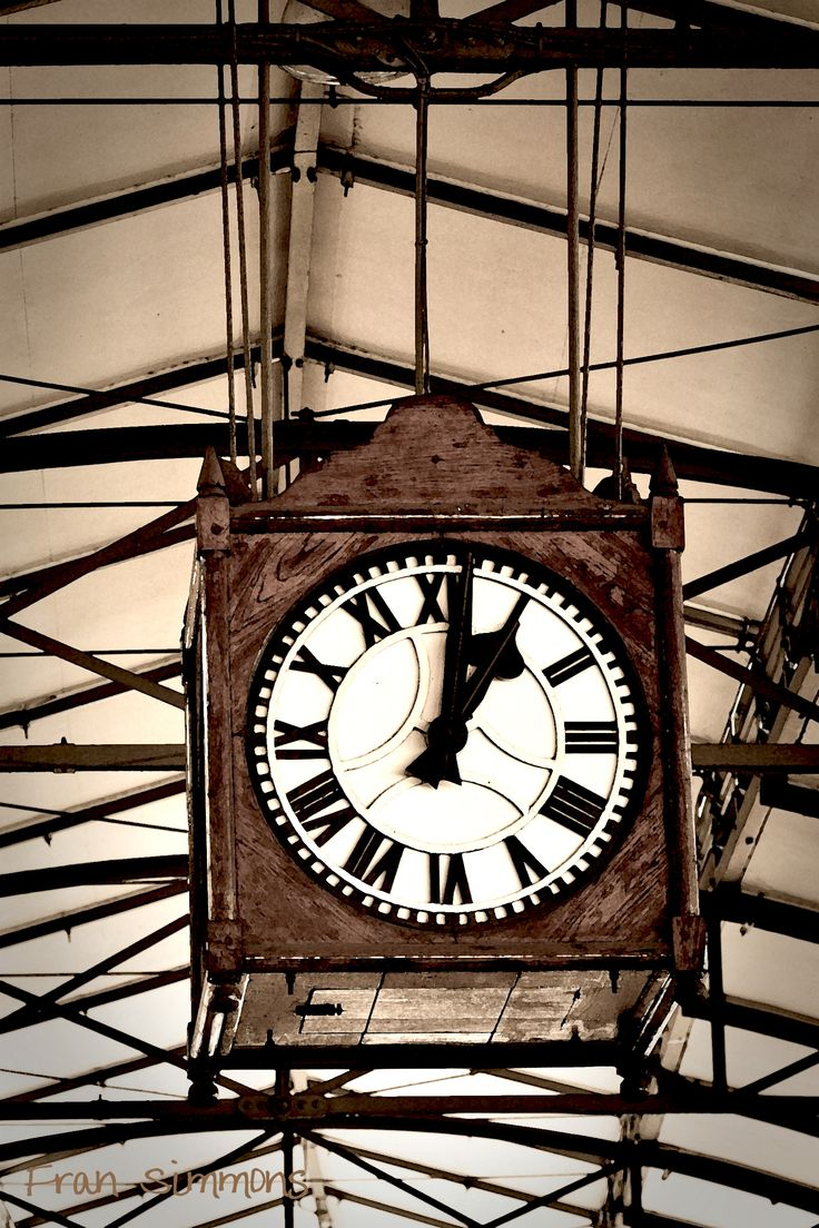 Clock at Pietermaritzburg Train Station