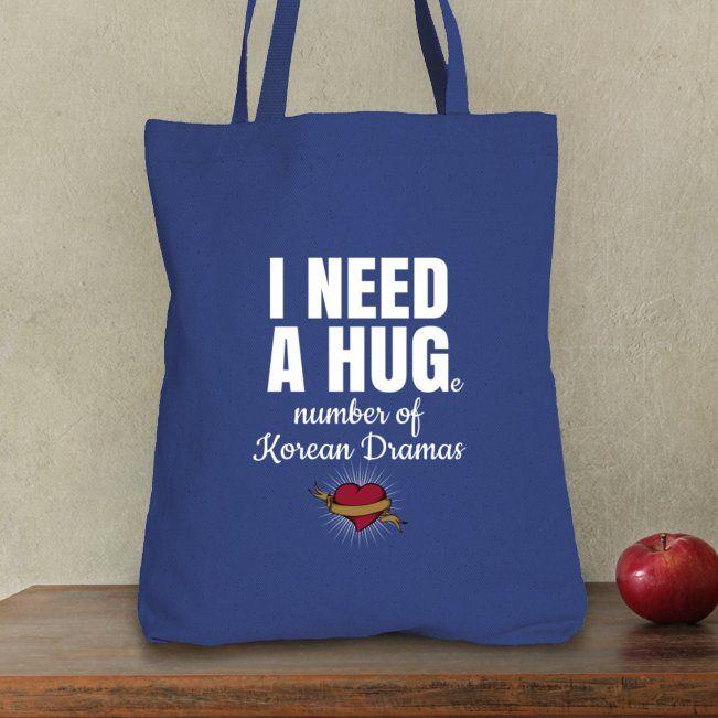 Ich benötige eine enorme Anzahl koreanische Dramen – Taschen-Tasche
