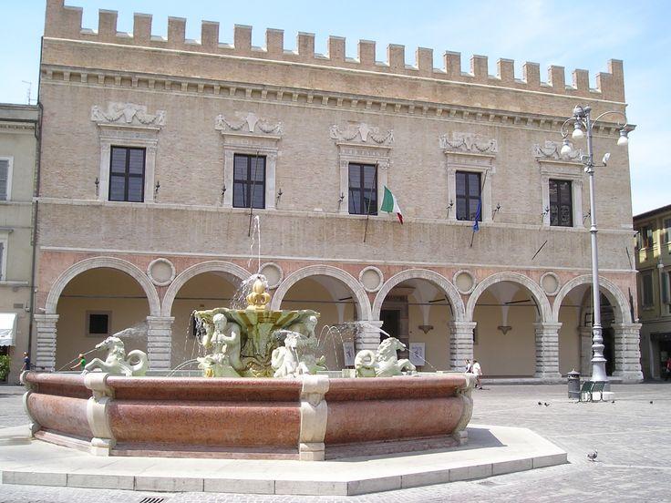 Piazza del Popolo - Pesaro, province of Pesaro e Urbino , Marche region Italy