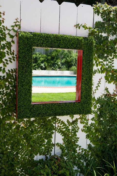 93 best turf inspiration images on pinterest decks for Outdoor mirror ideas