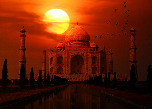 Taj Mahal Sunset | Turkish Posters | Pinterest | Taj mahal ...