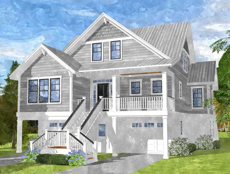 435 best Beach house plans images on Pinterest   Beach homes, Beach Dream Beach Houses Design P E A on