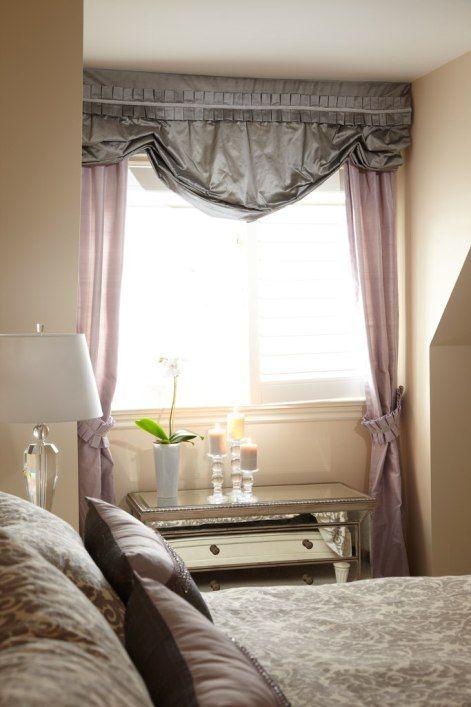 10 Superb Master Bedroom Window Treatment Ideas