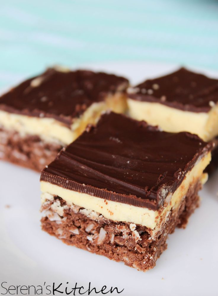 Nanaimo Bar Brownies Recipe — Dishmaps
