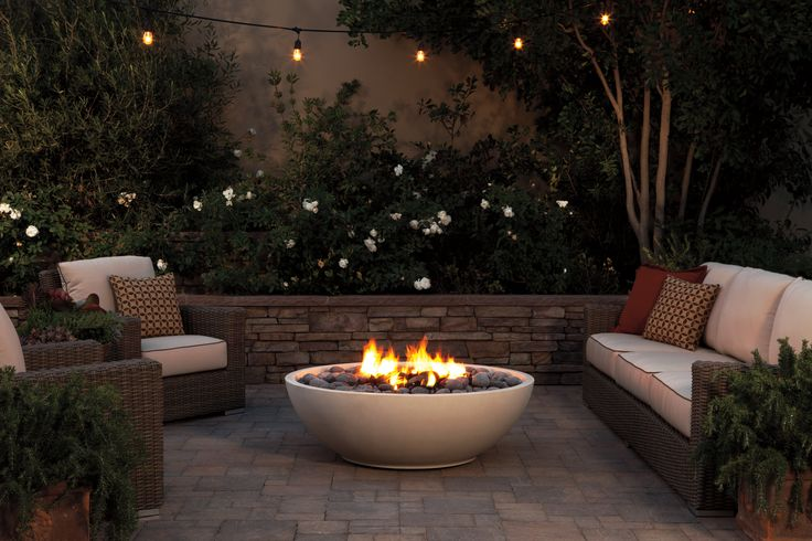 The Mezzaluna Artisan Fire Bowl by Eldorado Outdoor. For more amazing patio heaters, read on.