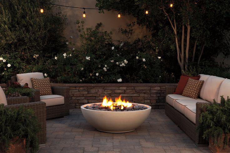 The Mezzaluna Artisan Fire Bowl by Eldorado Outdoor. For more amazing patio heaters, read on.