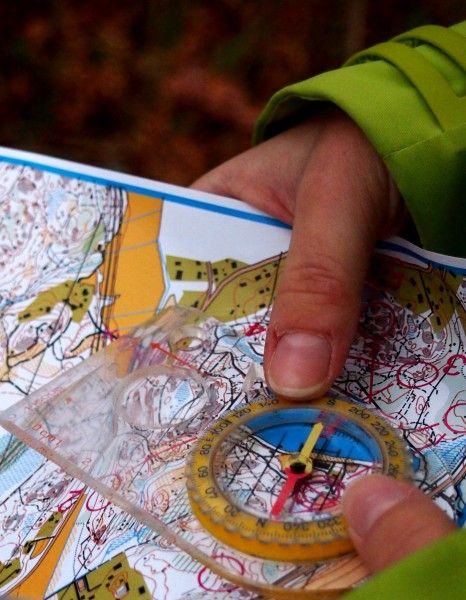 Orienteering is a great way of experiencing the Finnish nature while giving yourself a challenge at the same time. Orienteering is a popular sport in Finland and children usually learn the basics in gym classes at school. Photo: Mia Halmén #helsinki #orienteering #outdoors #forest #compass #map