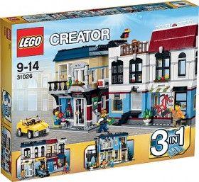 Lego Creator Bike Shop and Café 31026