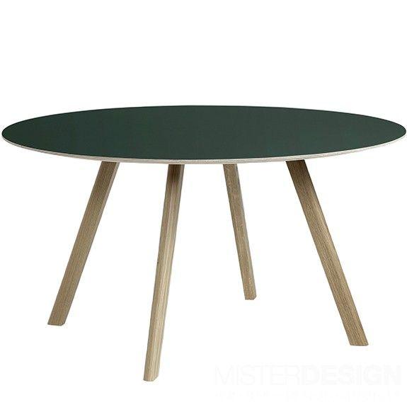 Copenhague Table CPH25 Tafel Rond - Hay Gezeept - Groen1250euro