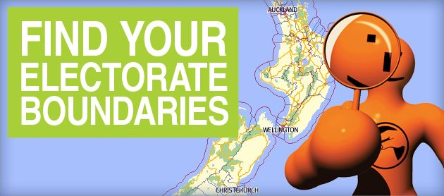 Find your electorate boundaries