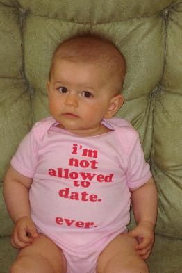my daughter will wear this... even when shes 13, and 15, and 17, and 25... hahah