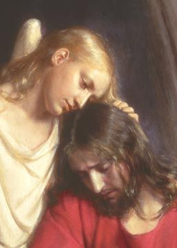 Jesus in the garden by Carl Boch- This has always been one of my favorites. Their expressions.