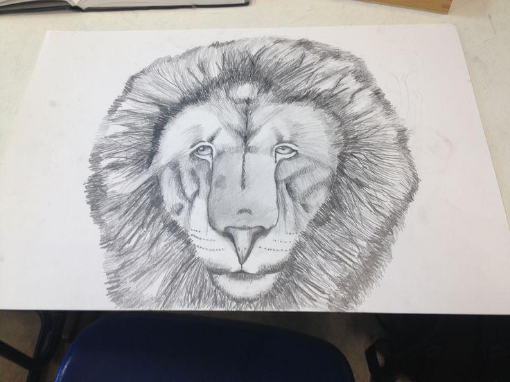 Ik heb vandaag de manen van de leeuw afgemaakt en   De volgende les maak ik de jungle en dan is de leeuw Af ik heb vandaag veel gedaan en volgende week moet ik wel een beetje door werken omdat dat de laatste les is