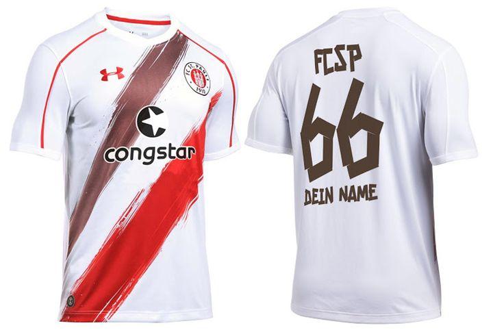 Camisas do FC St Pauli 2016-2017 Under Armour Reserva
