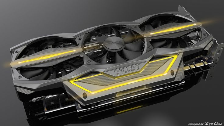 Xi ye Chen- ZOTAC GTX 970&980 AMP! Extreme Edition on Behance