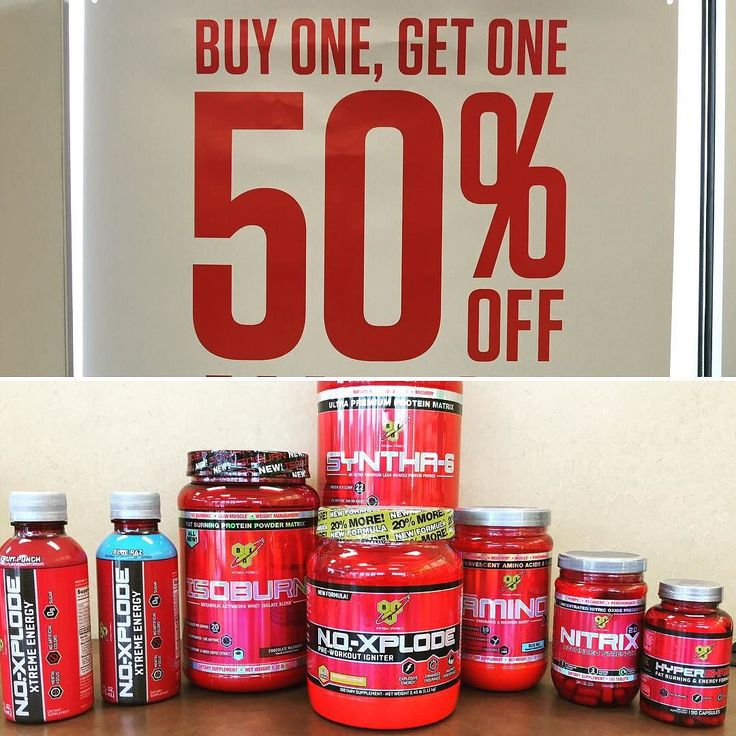 Only 5 days left to take advantage of our great sale on all your favorite BSN supplements! Mix and Match Buy One Get One 50% Off!! Swing in to your nearest Vitamin Shoppe! #vitaminshoppe #bsnsupplements by adamgilbertson54