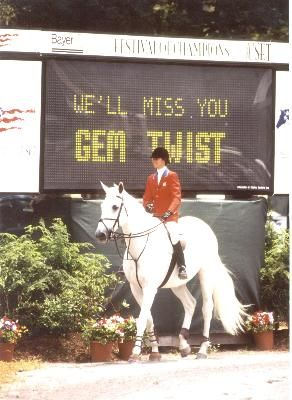 The legendary Gem Twist.