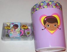 She Will Love This Doc Mcstuffins Bathroom Set Features Waste Basket