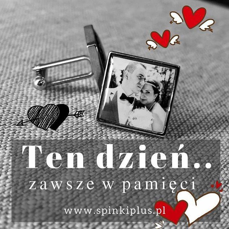 #personalizowanespinkidomankietow #zezdjeciem Wspomnień wspaniałych chwil nigdy dość! #prezent 🎁 #panmlody #ojciecpannymlodej #spinkiplus #czyjuzczasna #prezentypodchoinke