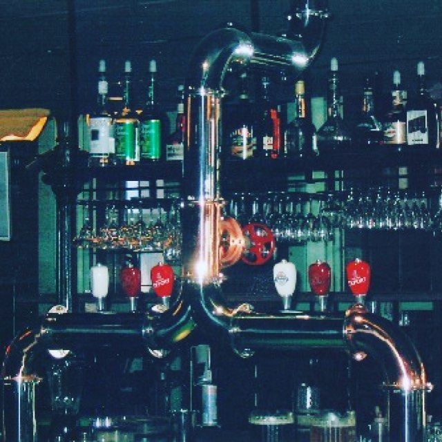 Custom SS chrome polished draft beer tower with a ceiling mount ! #Beer #CraftBeer #design
