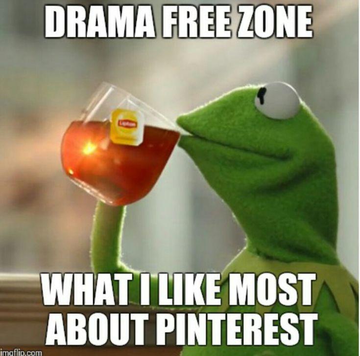 Pinterest = No drama