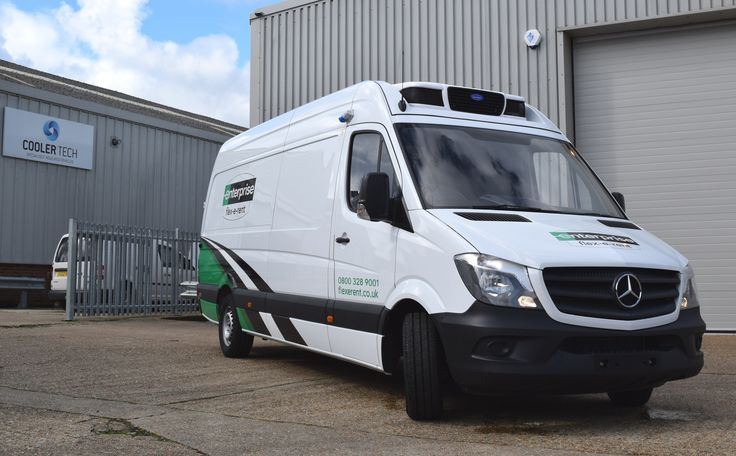 Didn't get to the CV Show? Here's one of the fabulous five Coolertech insulated vehicle exhibits: a twin evap LWB Sprinter van for Enterprise Flex-E-Rent. Call us on 01323 842 431 for more information.