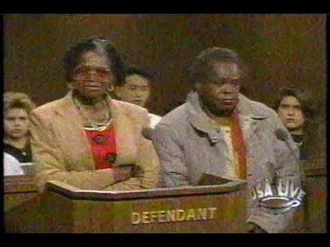 """Part 1 of 3 Old """"The People's Court"""" with Judge Wapner and Doug Llewelyn on """"USA Live"""" Early 1990's - YouTube"""
