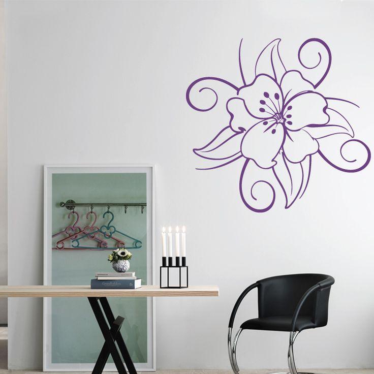 Διακοσμητικό Αυτοκόλλητο Τοίχου Houseart - Λουλούδι