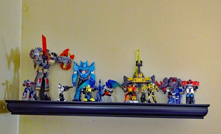 My transformers collection, so far.