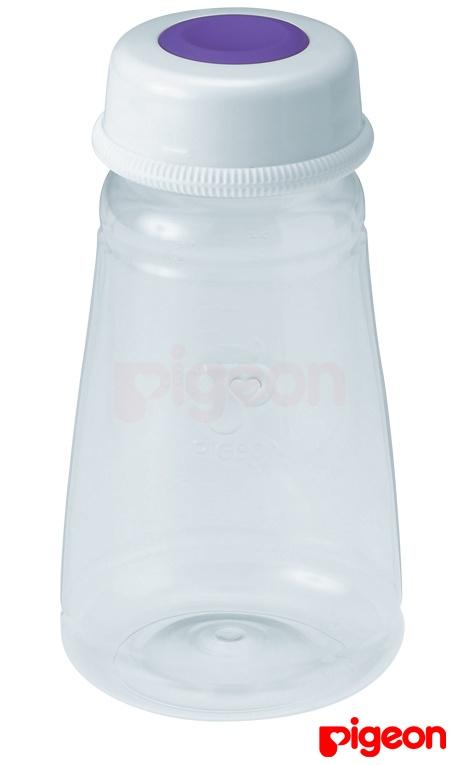 Biberón de almacenamiento Pigeon 3 pzs.  Permiten refrigerar o congelar la leche materna, Compatibles con tetinas de boca standard, Se pueden convertir en biberón