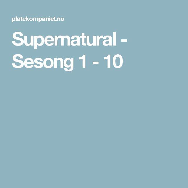 Supernatural - Sesong 1 - 10