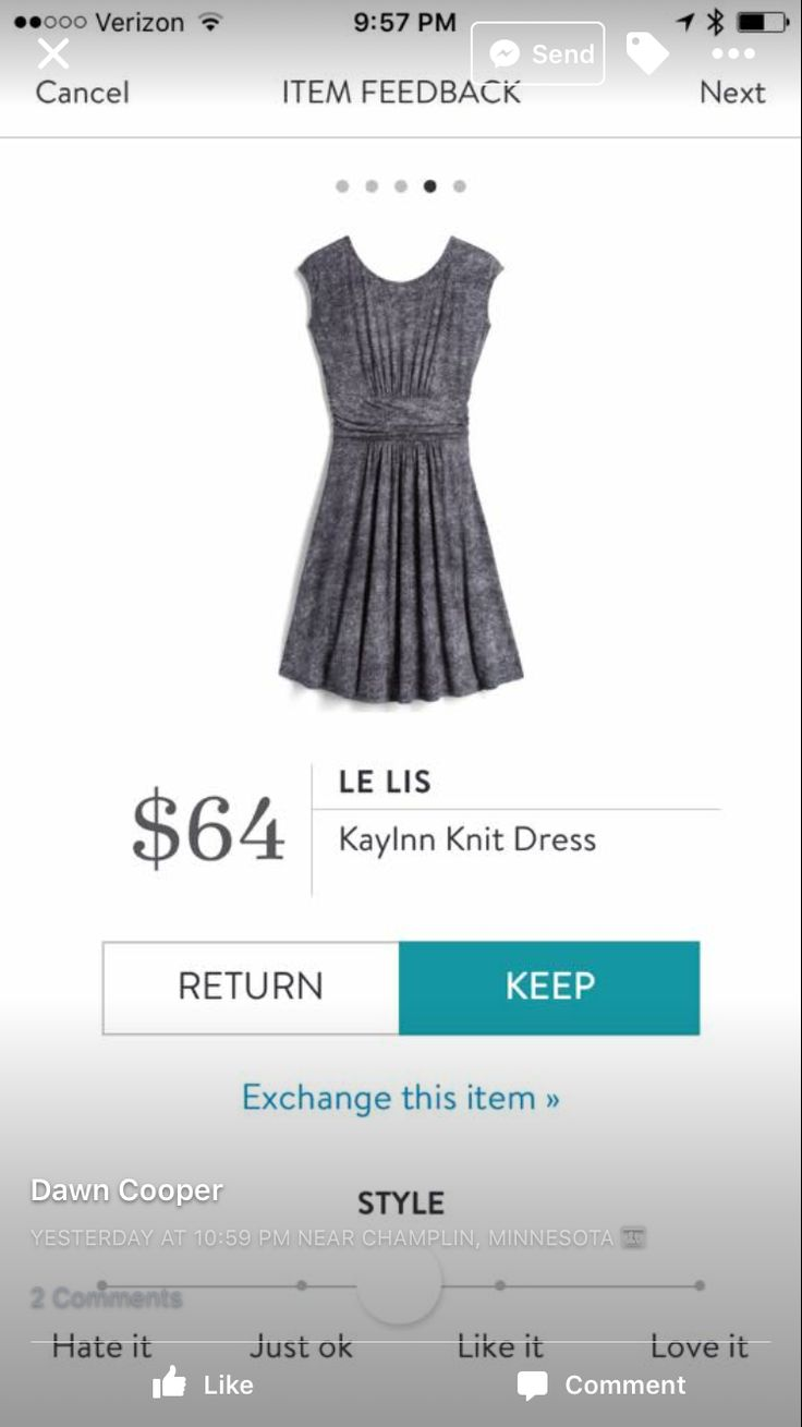 Le Lis Kaylnn Dress. I love Stitch Fix! A personalized styling service and it's amazing!! Simply fill out a style profile with sizing and preferences. Then your very own stylist selects 5 pieces to send to you to try out at home. Keep what you love and return what you don't. Only a $20 fee which is also applied to anything you keep. Plus, if you keep all 5 pieces you get 25% off! Free shipping both ways. Schedule your first fix using the link below! #stitchfix @stitchfix. Stitchfix Spring…