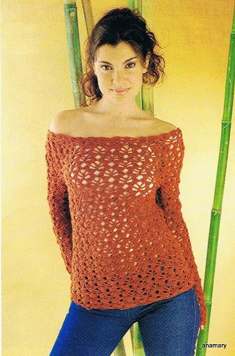 crochet and knitting ... Anamary: crochet fashion