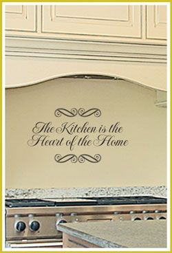 The Kitchen Is Heart QuotesKitchen Dining RoomsKitchen